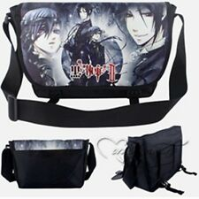 Kuroshitsuji Black Butler Sebastian Ciel School Messenger Shoulder Bag Backpack