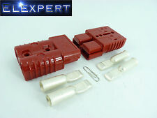 ANDERSON PLUG_175 AMP_BATTERY CONNECTOR_JUMP START _SLAVE ASSIST_PAIR_RED