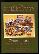COLLECTOYS  7eme  vente de jouets anciens     2 octobre 1999
