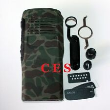 Camouflage Replacement New Front Outer Housing Cover For Motorola GP328