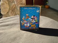 WALT DISNEY 100th ANNIVERSARY 2-SIDED GAME 2001 CATCH A FALLING STAR