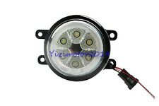 18W Hi-Power 6SMD LED Fog Light Lamps DRL Angel Eyes For Peugeot Citroen Renault