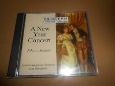 Johann Strauss - a New Year Concert London Symphony Orchestra CD Album