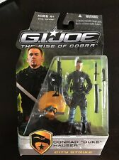 G.I. Joe Rise Of Cobra Rise of Cobra Conrad Duke Hauser City Strike UNOPENED