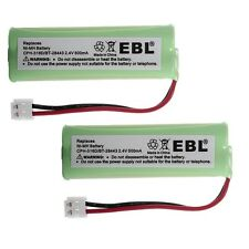2 pcs 2.4V 500mAh Home phone Battery For Vtech BT18443 BT28443 CPH-518D BT-28443