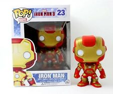 Funko POP!  Marvel Iron man 3 Iron Patriot Bobble Head Toy 3.75in