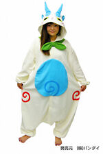 JAPANESE authentic KOMASAN kigurumi onesie costume fleece fabric uni-sex