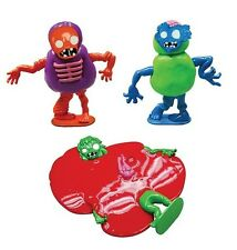 3 pc Melting Zombie Set Putty Mud Slime Set Tactile Play