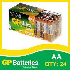 GP Ultra Alkaline AA Battery box of 24 [MP3, CAMERAS GAMES CONSOLES + OTHERS]
