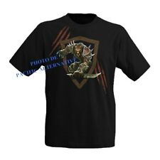 T shirt WORGEN taille XL noir pour homme world of warcraft wow man new black NEW