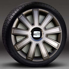 "4x15"" wheel trims, Hub Caps, Covers to fit Seat Ibiza,Leon,Toledo,Altea XL"