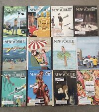 Variety Lot of 14 Back Issues of The New Yorker NY Political News Magazine 2016