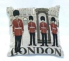 """London Guards Traditional Printed Cushion Cover 17"""" X 17"""" (43cm X 43cm)"""