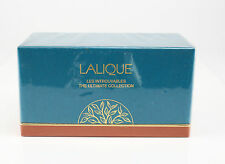 3pc. Lalique Miniature Perfume Bottles The Ultimate Collection Unopened Box