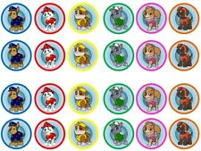 24X NEW PAW PATROL Edible Wafer Fairy Cupcake Bun Toppers Buy 2 Get 1 Free