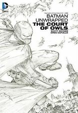 Batman Unwrapped: Court of Owls by Scott Snyder & Greg Capullo 2014 HC DC Sealed