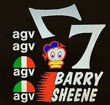 Barry Sheene AGV Casco Decalcomanie