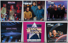 FULL SET of SIX Book Store Star Trek ADVERTISING DISPLAY SIGNS 25th Anniversary!