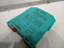 PEPPERL and FUCHS ISOLATED DUAL TRIP Amplifier - KHD2-TT-02-ISO - DIN MOUNTING