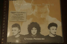 Rare David Bowie Queen under Pressure CD Single Picture Cover 1st Run MINT Disc