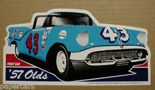 Richard Petty 1957 Olds Oldsmobile Conv Convertible STP Racing Sticker Decal NEW