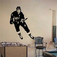 "Bob Probert Detroit Red Wings Hockey Vinyl Wall Sticker Decal 22""w x 27""h"