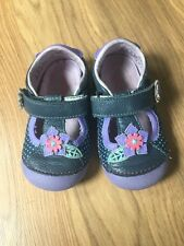 Toddler Girl Stride Rite Spring/summer Shoes. Size 6. VGUC