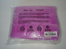 """Tupperware Microfiber Kitchen 15""""x25"""" Towels Set of 2 Orchid & White Sealed New"""