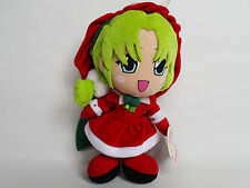 TOKYO MEW MEW PLUSH DOLL LETTUCE CHRISTMAS CAT XMAS 2002 SEGA JAPAN USED