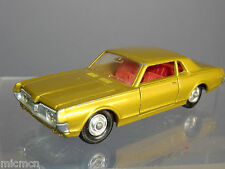 MATCHBOX SUPER KING  No.K-21 MERCURY COUGAR CAR  WITH RARE RED INTERIOR