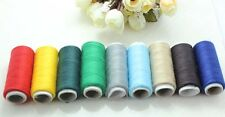 9X 200Yd mix Polyester machine hand Sewing embroidery Thread craft DIY W121