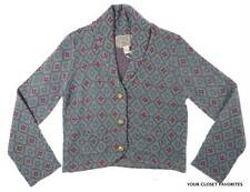 New Nick & Mo Women's Short Cardigan Size Large Button Down Shawl Collar Sweater