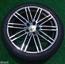 2016 Porsche MACAN TURBO DESIGN OEM Factory Style 21 in WHEELS Continental TIRES
