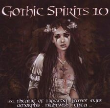 GOTHIC SPIRITS 10 2CD Nightwish MONO INC. Lacrimosa