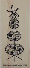 NEW MSE! My Sentiments Exactly! Mounted Wood Rubber Stamp R346 Rockin' Tree