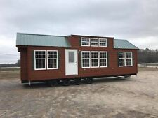 2017 NATIONAL12x35-2BR/1BA RUSTIC CABIN PARK MODEL TINY HOME- ALL North Carolina