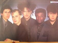 CURE black suited group Centerfold magazine POSTER  17x11""