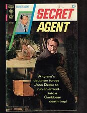 Secret Agent #2 ~ Gold Key / TV / John Drake ~ (4.5) WH