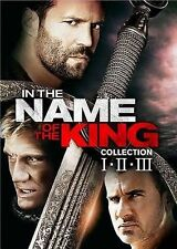 In the Name of the King Collection: I, II, III (DVD, 2014, 3-Disc Set)