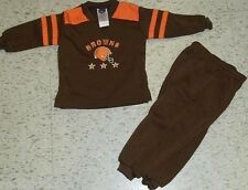 Cleveland Browns Baby toddler kids shirt pants outfit sz 24 Months (BRAND NEW!)