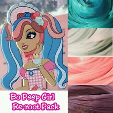 Ever After High Little Bo Peep Girl Custom Doll Re-root Pack Nylon Hair Kit
