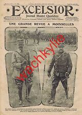 Excelsior n°1742 du 23/08/1915 Moisselles revue von Gluck Bombardier Wells boxe