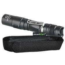 Sunwayman P25C Cree 1000 Lumen LED tactical flashlight w/ EdisonBright holster