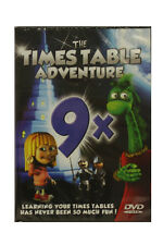 Times Table Adventure DVD - 9 Times Tables - Learn your Times Tables a Fun Way!