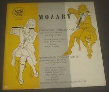 Mozart  Symphonie Concertante Seegelken / Reinhardt / Barchet / Kirchner VOX LP