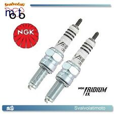 2 CANDELE NGK IRIDIUM IX CR8EIX PER APRILIA SCARABEO LIGHT 200 DAL 2007 IN POI