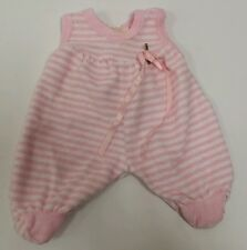 "Zapf Creation Chou Chou Baby Born 14"" Doll Pink Outfit Stretchie"