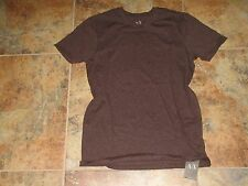 Womens Armani Exchange Brown 100% Cotton Luxury T-Shirt Small S/P  $25