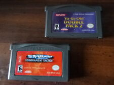 GBA Lot Yu-Gi-Oh Double Pack 2 and Yu-Yu-Hakusho Ghost Files Tournament Tactics