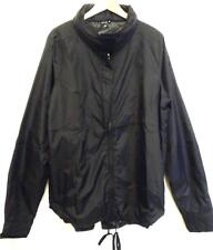 TOPMAN PEOPLES MARKET (SIZE XL) RRP £54 BLACK LIGHTWEIGHT NYLON JACKET